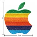 Apple Mac Iphone Style-3 Embroidered Sew On Patch