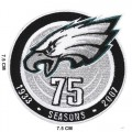 Philadelphia Eagles 75th Seasons Embroidered Iron On/Sew On Patch