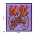 ACDC Music Band Style-2 Embroidered Sew On Patch
