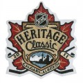 2011 NHL Heritage Classic Embroidered Sew On Patch