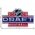 NHL Draft 2008-2009 Embroidered Sew On Patch