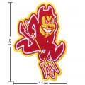 Arizona State Sun Devils Style-1 Embroidered Iron On/Sew On Patch