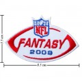 NFL 2009 Fantasy Embroidered Iron On/Sew On Patch