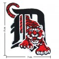 Detroit Tigers Primary Style-2 Embroidered Sew On Patch