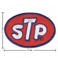 STP Oil Style-2 Embroidered Sew On Patch