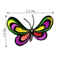 Butterfly Style-35 Embroidered Sew On Patch