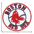 Boston Red Sox Style-2 Embroidered Iron On/Sew On Patch
