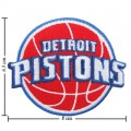 Detroit Pistons Style-1 Embroidered Sew On Patch