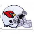 Arizona Cardinals Helmet Style-1 Embroidered Iron On/Sew On Patch
