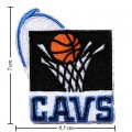 Cleveland Cavaliers Style-2 Embroidered Sew On Patch