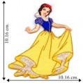 Princess Snow White Embroidered Sew On Patch