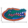 Florida Gators Style-1 Embroidered Iron On/Sew On Patch