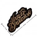 Harley Davidson Athena H-D Patches Embroidered Sew On Patch
