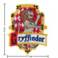 Harry Potter Gryffindor House Style-1 Embroidered Sew On Patch