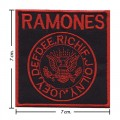 Ramones Music Band Style-2 Embroidered Sew On Patch