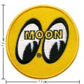 Mooneyes Equipped Style-1 Embroidered Sew On Patch
