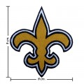 New Orleans Saints Style-1 Embroidered Iron On/Sew On Patch