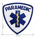 Emergency Medical Technician Style-4 Embroidered Sew On Patch