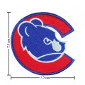 Chicago Cubs Sport Style-7 Embroidered Iron On/Sew On Patch