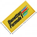 Benetton F1 Racing Style-1 Embroidered Sew On Patch