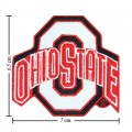 Ohio State Buckeyes Style-2 Embroidered Iron On/Sew On Patch