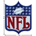 National Football Leagues NFL Style-2 Embroidered Iron On/Sew On Patch