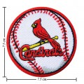 St Louis Cardinals Baseball Style-2 Embroidered Iron On/Sew On Patch