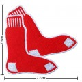 Boston Red Sox Style-1 Embroidered Iron On/Sew On Patch