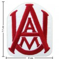 Alabama A&M Bulldogs Style-1 Embroidered Iron On/Sew On Patch