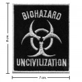 Biohazard Music Pop Rock Music Band Style-3 Embroidered Sew On Patch