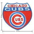 Chicago Cubs Sport Style-3 Embroidered Sew On Patch