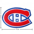 Montreal Canadiens Style-1 Embroidered Sew On Patch