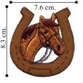 Horse Style-1 Embroidered Sew On Patch