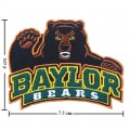 Baylor Bears Style-1 Embroidered Sew On Patch