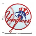 New York Yankees Style-1 Embroidered Iron On/Sew On Patch