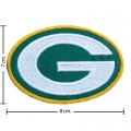 Green Bay Packers Style-1 Embroidered Iron On/Sew On Patch