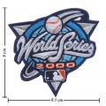 World Series 2000 Embroidered Sew On Patch