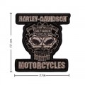 Harley Davidson Cognition Patch Embroidered Sew On Patch