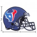 Houston Texans Helmet Style-1 Embroidered Iron On/Sew On Patch