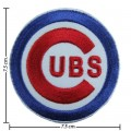 Chicago Cubs Sport Style-1 Embroidered Iron On/Sew On Patch