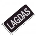 Lagdas Embroidered Sew On Patch