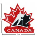 Canada Hockey General Mills Style-1 Embroidered Sew On Patch