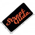 Harley Davidson Street Glide Patch Embroidered Sew On Patch
