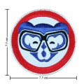 Chicago Cubs Sport Style-6 Embroidered Iron On/Sew On Patch