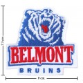 Belmont Bruins Style-1 Embroidered Iron On/Sew On Patch