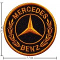 Mercedes Benz Style-3 Embroidered Sew On Patch