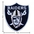 Oakland Raiders Style-1 Embroidered Iron On/Sew On Patch