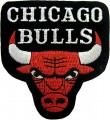 Chicago Bulls Style-2 Embroidered Sew On Patch