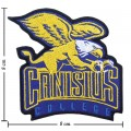 Canisius Golden Griffins Style-1 Embroidered Iron On/Sew On Patch