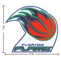 Florida Flame The Past Style-1 Embroidered Sew On Patch